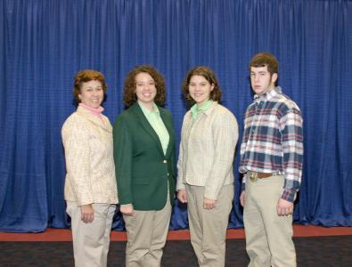 2007 Kentucky 4-H National Livestock Skillathon Team