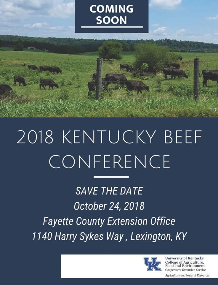 2018 Ky Beef Conference