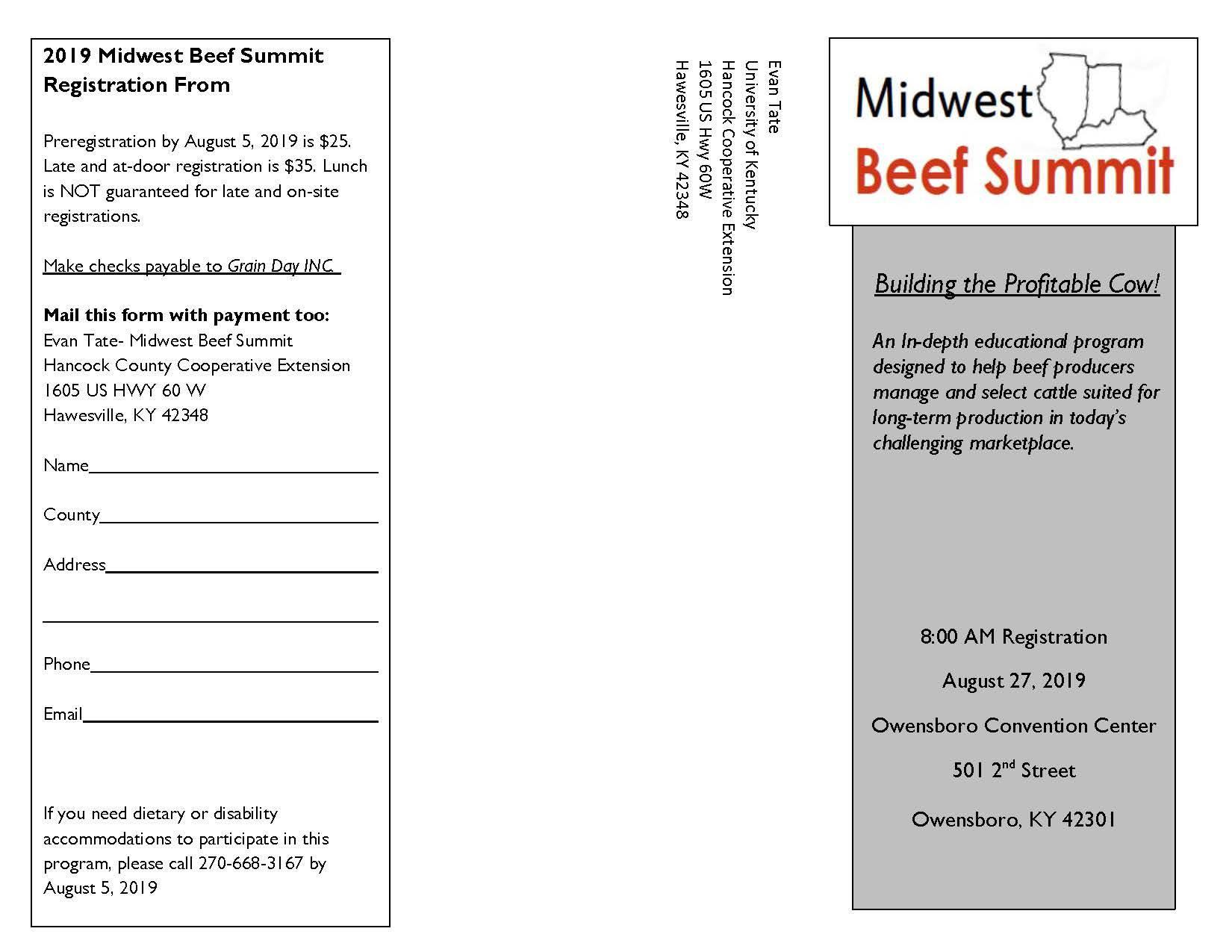 Midwest Beef Summit