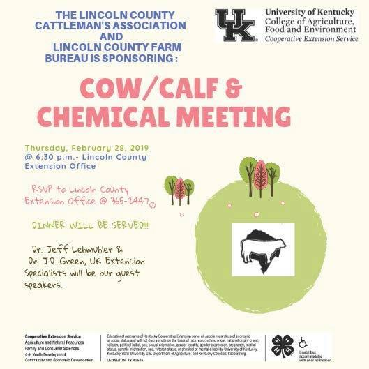 Feb 28 Cow/Calf & Chemical Meeting