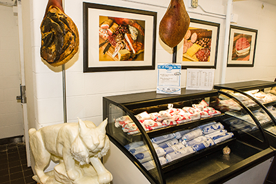 Butcher Shop display case