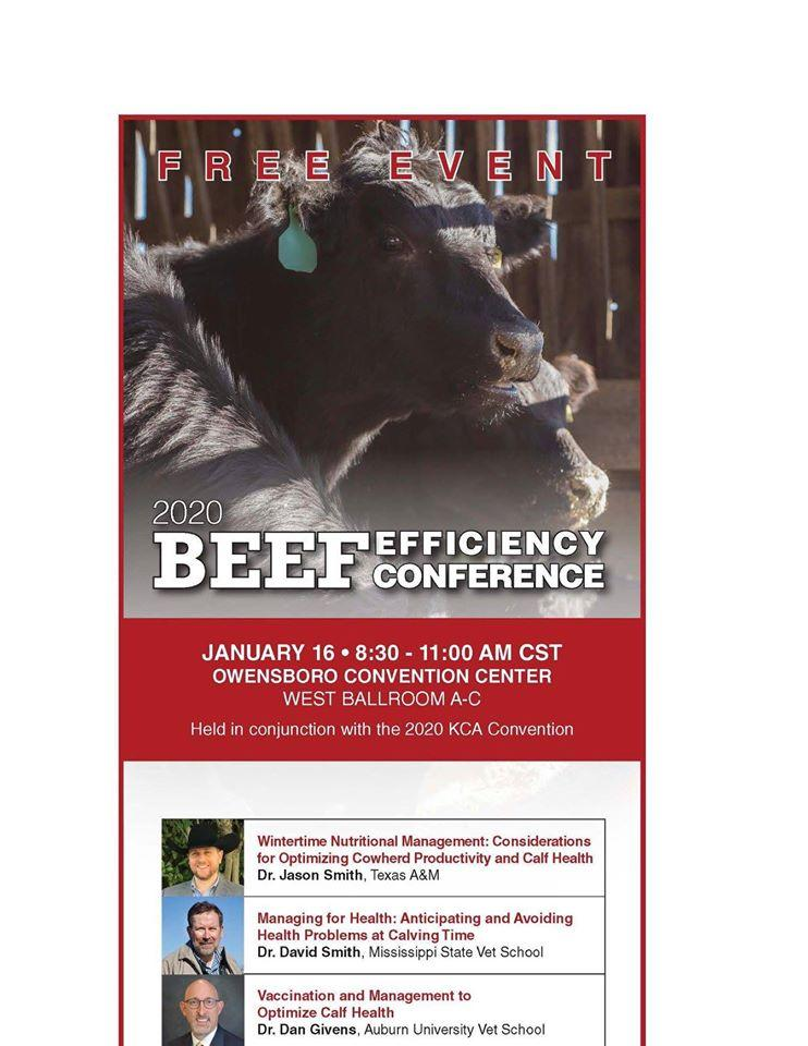 Beef Efficiency Conference