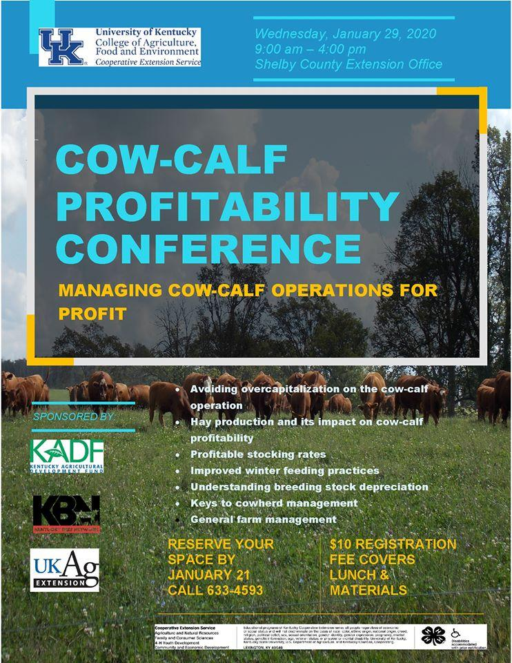 Cow-Calf Profitability Conference