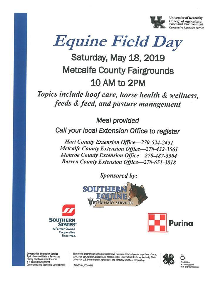 Equine Field Day