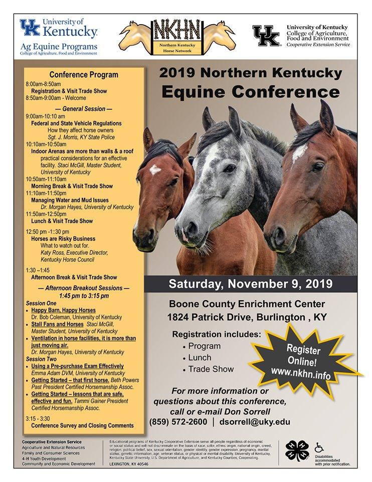 Norther Ky Equine Conference