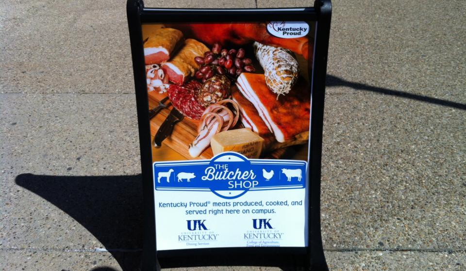 Butcher Shop sign