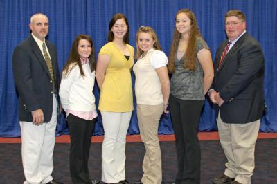 2007 Kentucky 4-H All-Star Gold Livestock Judging Team