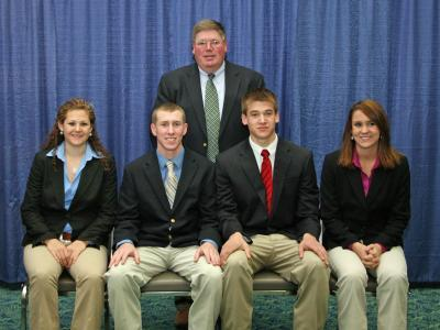 2009 Kentucky 4-H All-Star Gold Livestock Judging Team