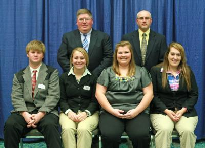 2010 Kentucky 4-H All-Star Gold Livestock Judging Team