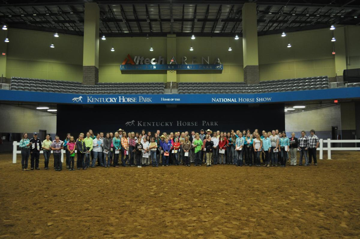 Kentucky State 4-H Horse Judging Contest | Animal & Food Sciences