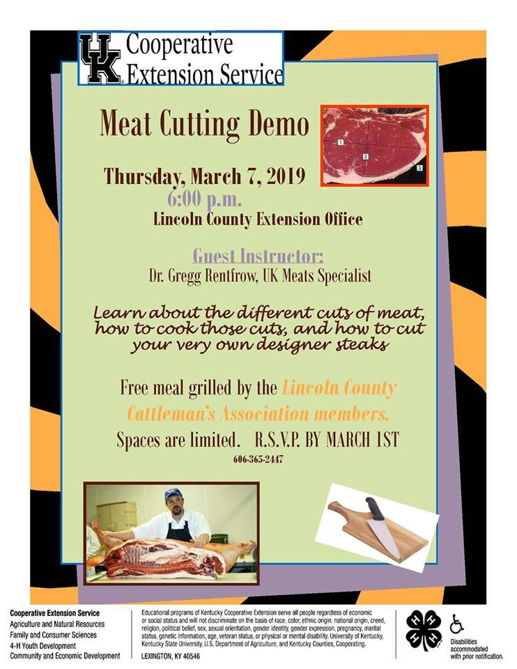 Meat Cutting Demo