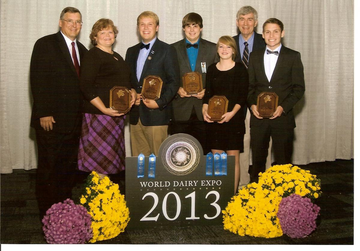2013 4-H Dairy Judging Team Places Fifth at National Contest