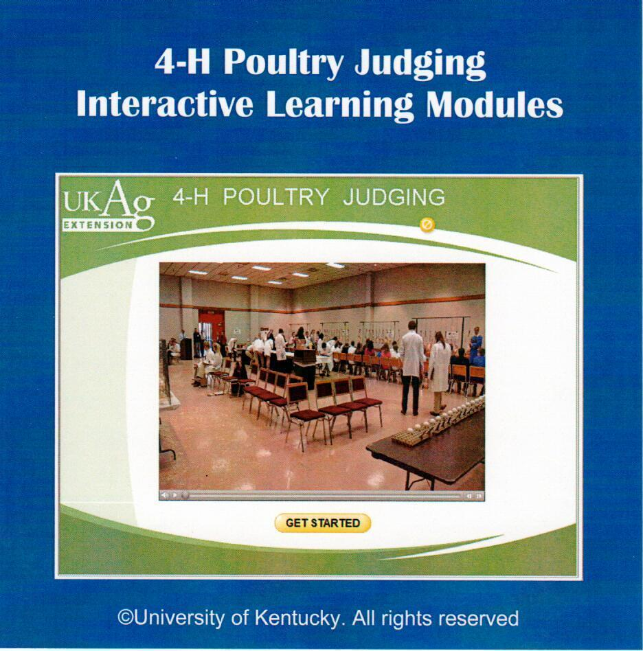 Poultry judging learning modules