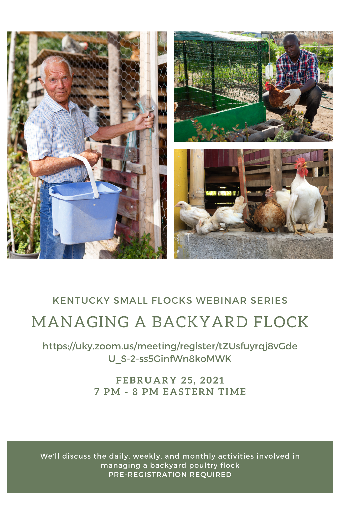Ky Small Flocks Webinar Series