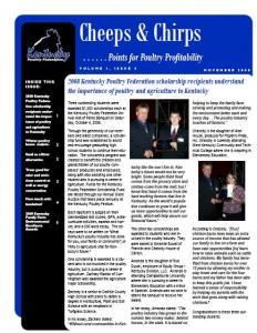 quarterly newsletter