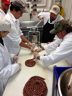 University of Kentucky Meat Cutting School