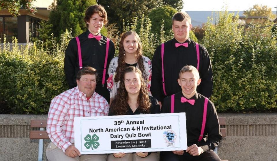 North American 4-H Invitation Dairy Quiz Bowl